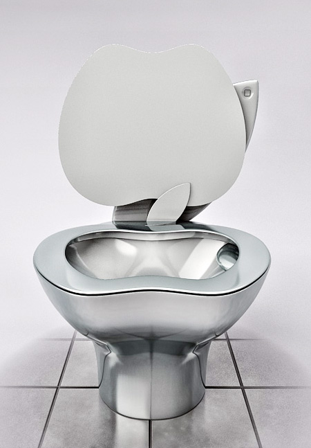Apple Toilet