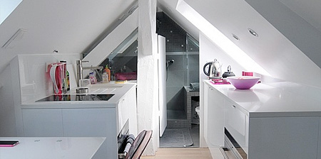 Tiny Apartment in Paris