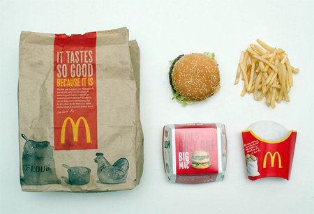 Big Mac Meal Packaging