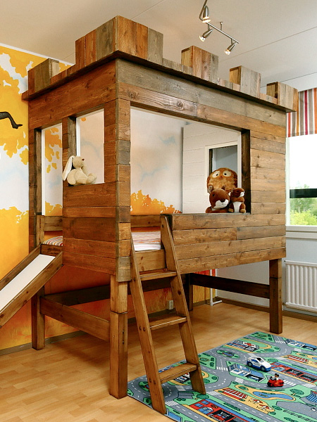 Calvin and Hobbes Kids Bedroom