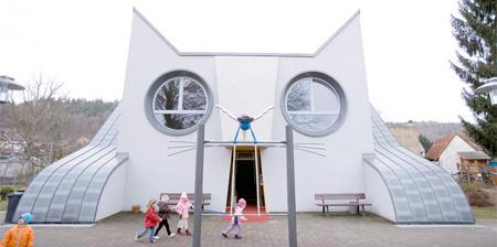 Cat Shaped Kindergarten