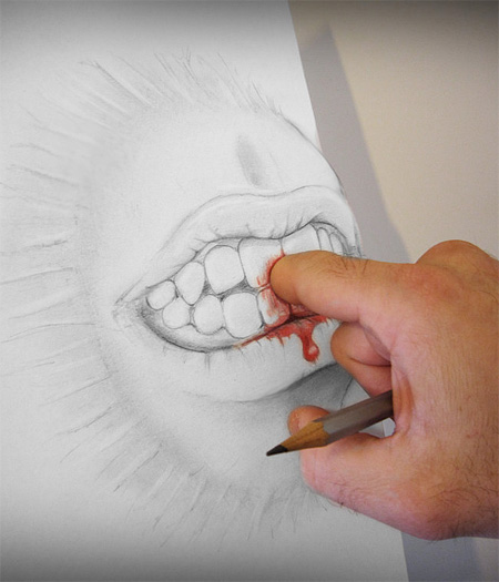 Drawing by Alessandro Diddi