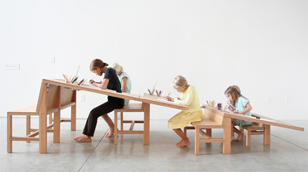 Growth Table by Tim Durfee and Iris Anna Regn