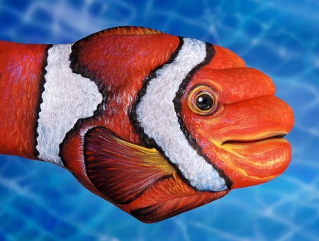 Hand Art by Guido Daniele