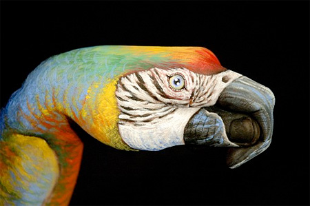 Body Painting by Guido Daniele