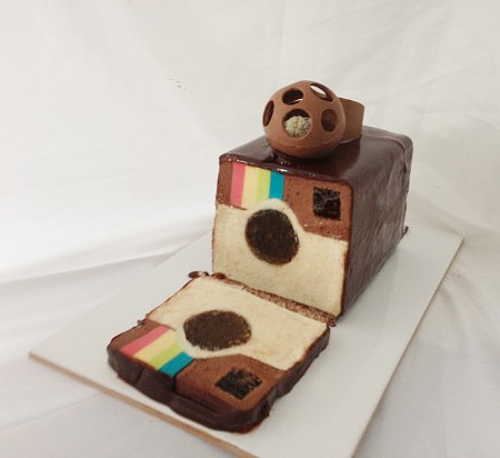 Instagram Logo Cake