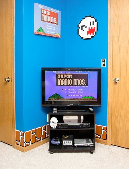 Mario Inspired Bedroom