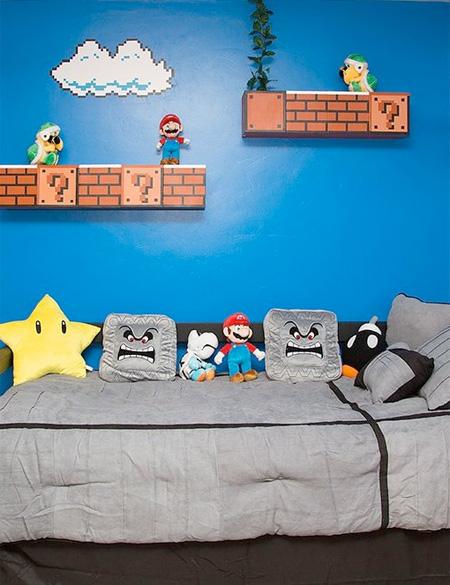 Super Mario Bed