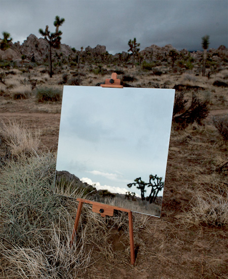 Mirror Paintings by Daniel Kukla