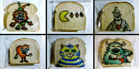 Sandwich Bag Art