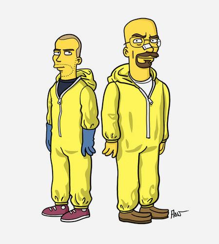 Simpsons Breaking Bad