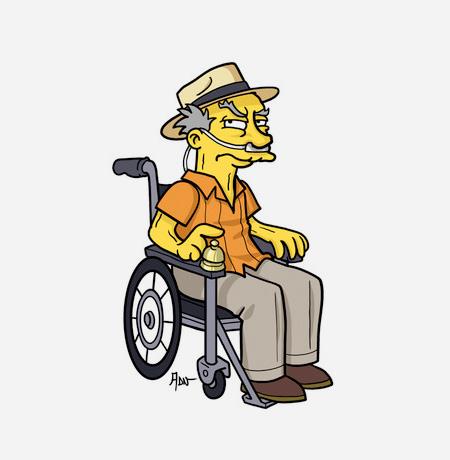 Simpsons Meets Breaking Bad