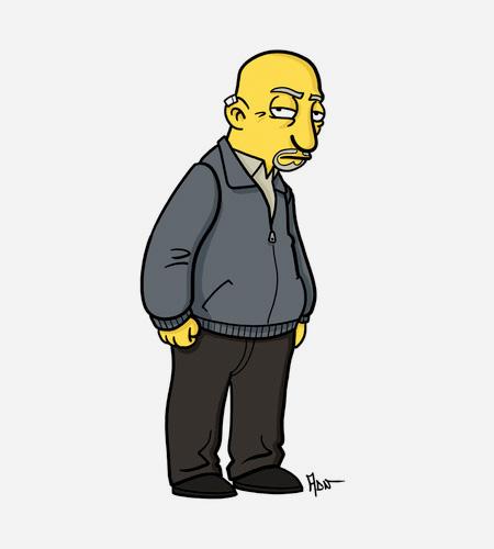 Simpsonized Breaking Bad Characters