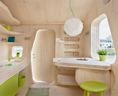 Compact House for Students