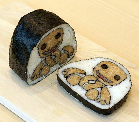 Japanese Sushi Roll Art