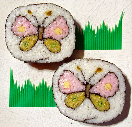 Sushi Roll Art by Takayo Kiyota