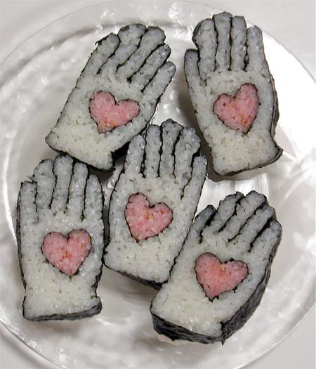 Sushi Roll Art by Tama-chan