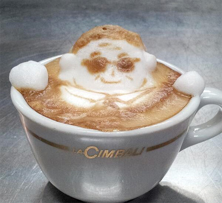 Coffee Foam Art
