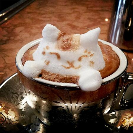 Coffee Sculptures by Kazuki Yamamoto
