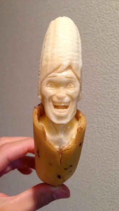 Banana Carving