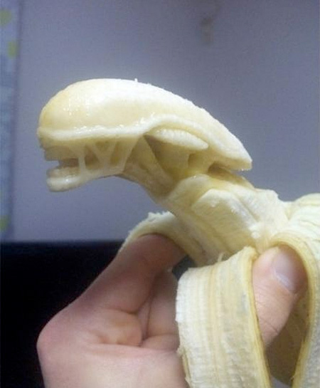 Banana Carving by Keisuke Yamada