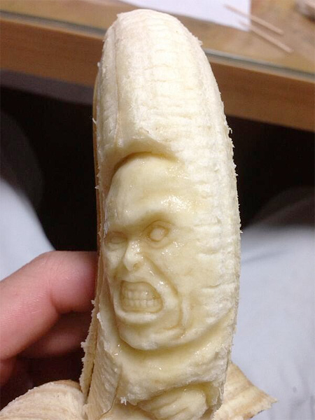 Japanese Banana Carvings