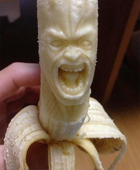 Japanese Banana Sculptures