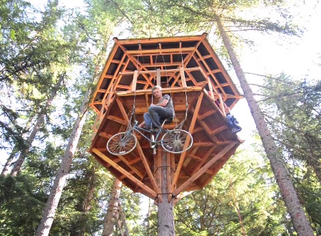Bicycle Elevator