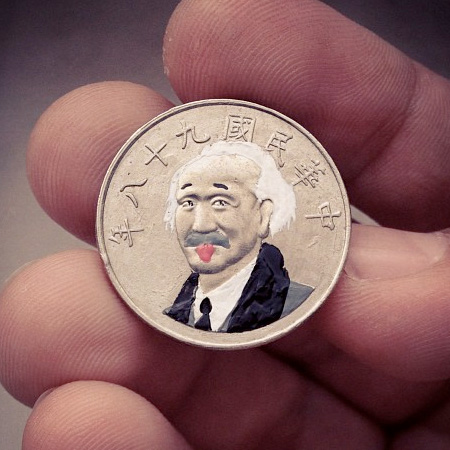 Albert Einstein Coin