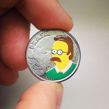 The Simpsons Coin
