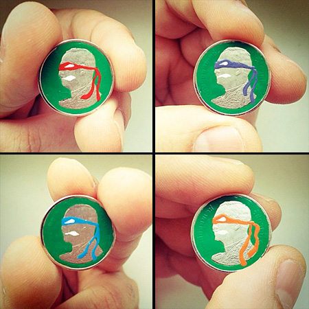 Ninja Turtles Coin