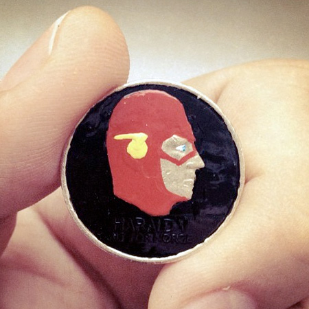 Superhero Coin