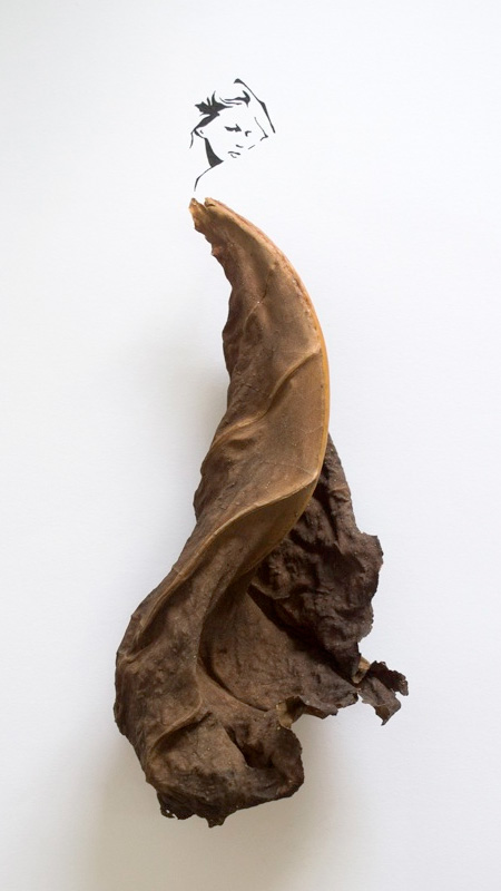 Leaf Art by Tang Chiew Ling