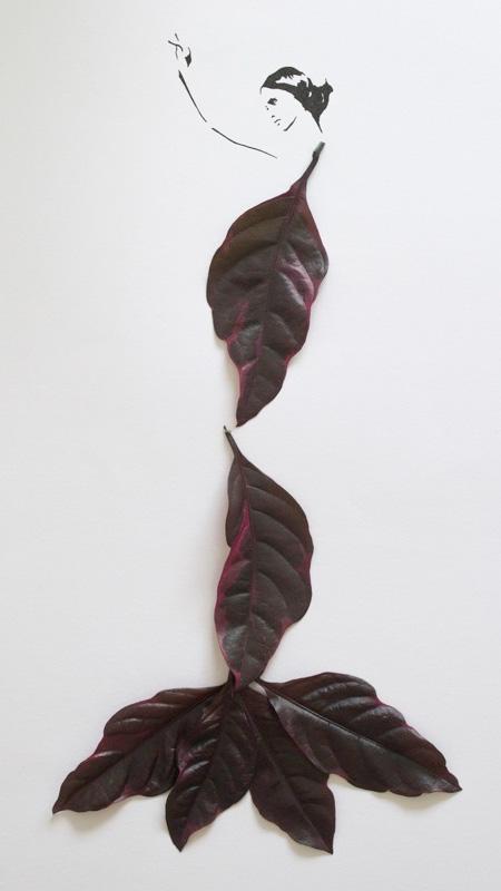 Creative Leaf Drawings