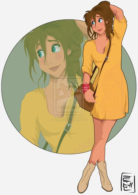 Disney Illustrations