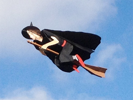 Radio Controlled Flying Witch