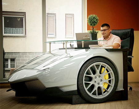 Lamborghini Office Desk