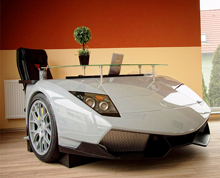 Lamborghini Murcielago Office Desk