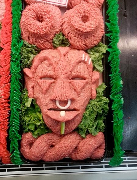 Beef Sculptures