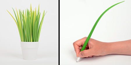 Grass Leaf Pens