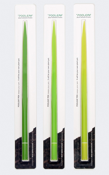 Pooleaf Grass Leaf Pens