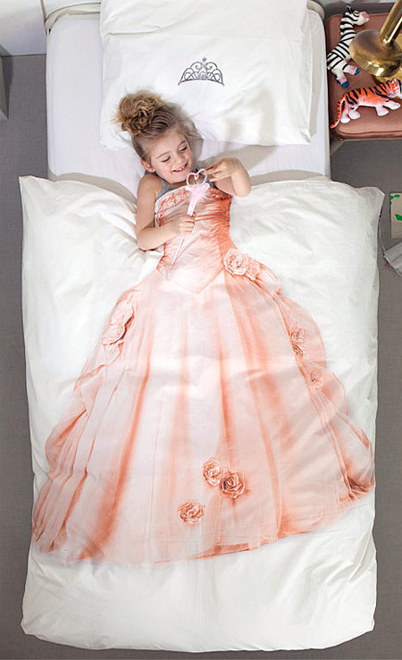Princess Dress Bed Sheets