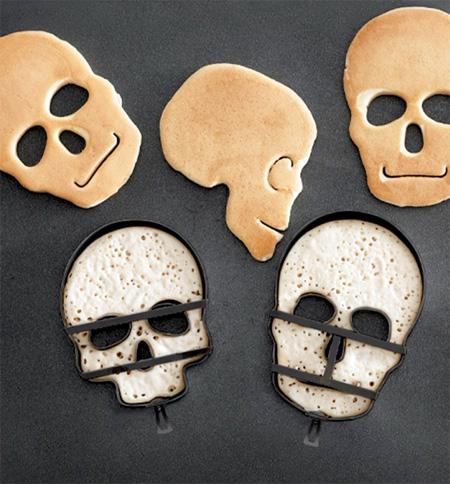 Skull Shaped Food