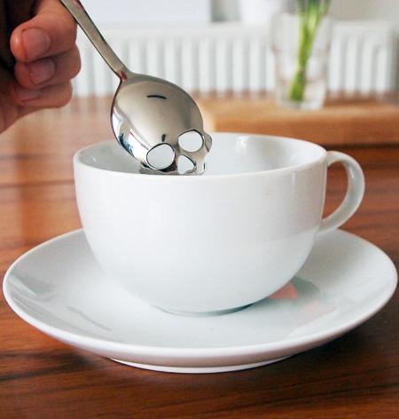 Skull Shaped Spoon