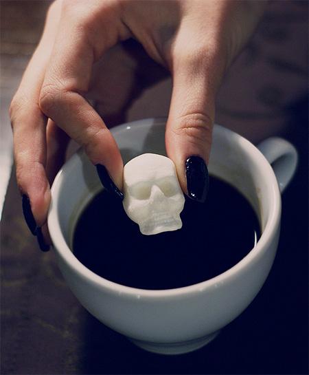 Halloween Skull Food