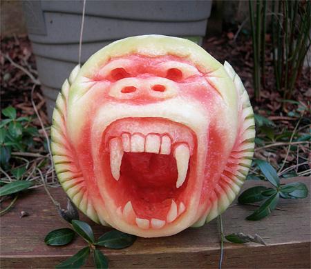 Watermelon Art by Sparksfly Design
