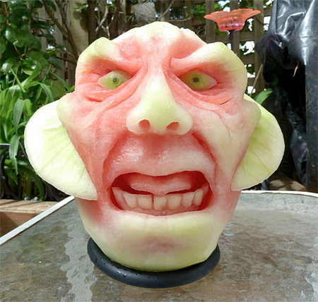 Watermelon Sculptures by Clive Cooper