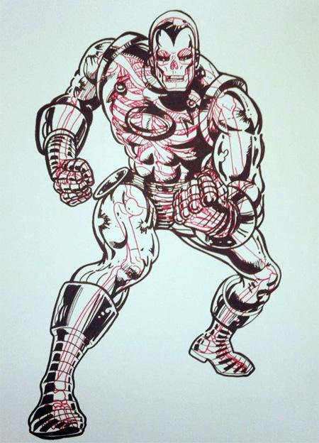 Comic Book Skeletons by Chris Panda