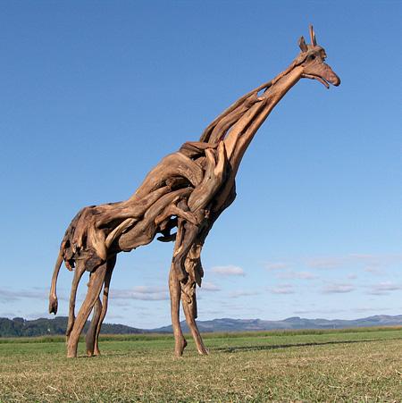 Driftwood Giraffe