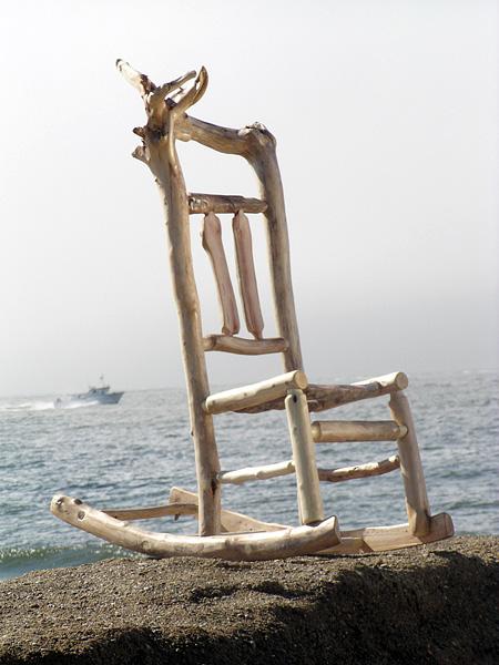 Driftwood Rocking Chair